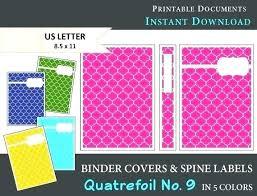 Printable Binder Covers Allsecure