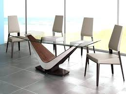 designer glass dining table modern glass dining table set minimalist room sets designs and chairs for designer glass dining table