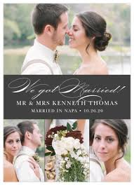 Announcement Cards Wedding Wedding Announcements Just Married Designs By Basic Invite