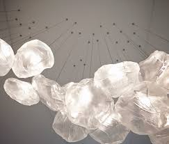 top omer arbel. blowing glass into highperformance pillowcases or how bocci created its cloudlike pendant lights core77 top omer arbel