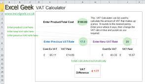 Vat Calculation Formula In Excel Download Vat Calculation Excel Magdalene Project Org