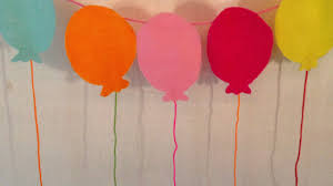 Small Picture How To Make A Balloon Garland For Birthday Parties DIY Home