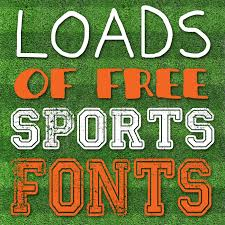 Free Sports Fonts I Should Be Mopping The Floor Free Sports Fonts
