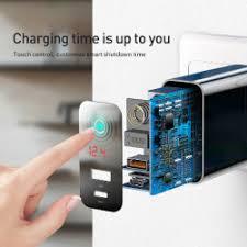 <b>Зарядное устройство Baseus</b> PD/QC - 5А/45Вт за 17.68$