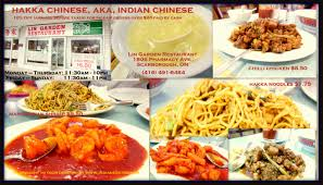 best in town lin garden in scarborough toronto a large dining room offering chinese dishes infused with hot indian spices plus pickup orders