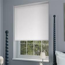 white blackout blinds. Beautiful Blackout Sevilla Tranquility Lilywhite Blackout Roller Blind On White Blinds H