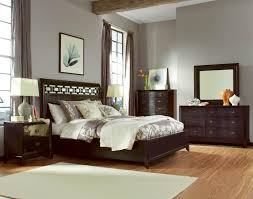 Painted Wooden Bedroom Furniture Bedroom Paint Color With Dark Wood Furniture Home
