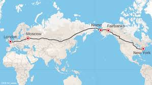 road from europe to u s russia