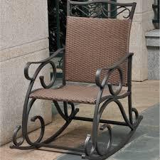 semco plastics sand resin outdoor patio rocking chair designs
