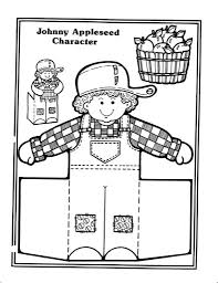 Small Picture The Most Awesome Johnny Appleseed Coloring Pages intended to