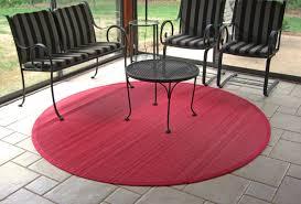 modern round outdoor rugs