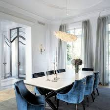 excellent best 25 blue velvet dining chairs ideas on inside velvet dining room chairs attractive