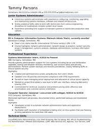 Sample System Admin Resume Free Download Backup Administrator Resume