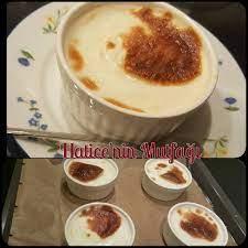 Hatice'nin Mutfağı - Fırın sütlaç (4 kişilik) Malzemeler: 0,25 bardak  pirinç 1,5 bardak su 2,5 bardak süt 1,5 yemek kaşığı nişasta 1 paket  vanilya yarım bardak şeker Hazırlanışı: Pirinci yıkayıp tencereye alalım
