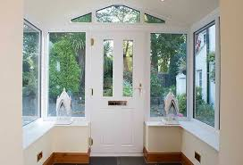 front door upvc double glazed glass