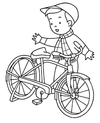 Small Picture Free Bicycle Coloring Page For Kids Transportation Coloring