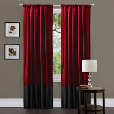 Red Black And Cream Living Room Living Room Amazing Maroon And Cream Windows Curtain Ideas For