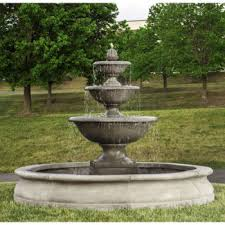 monteros commercial extra large outdoor tier water fountains