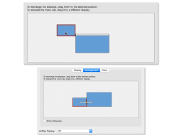 how to set up multiple monitors your mac cnet setup external monitors os x arrangement jpg