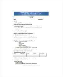 5 Handover Note Templates Pdf Doc Excel