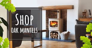 oak fireplace mantels