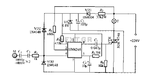 stepping hm4246 touch dimmer light circuit