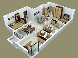 2D Interior Design Awesome Decoration