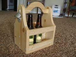 If you want to enhance the look of the project and to protect the wooden project from decay, we recommend you to cover the components with paint or stain. Beer Tote Ana White