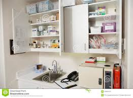 Hospital Medicine Cabinet Medical Cabinets In Hospital Royalty Free Stock Photo Image