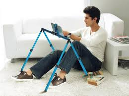 A Frame Bed Stand for iPads & Tablets