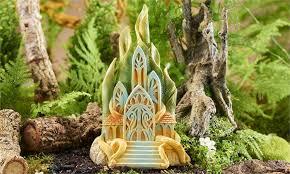 fairy garden castle. Classic Fairy Castle Miniature Garden A
