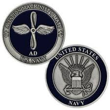 Navy Machinist Mate Details About New U S Navy Aviation Machinists Mate Ad Challenge Coin