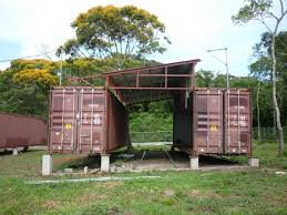 Container Box Homes In Shipping Container Homes Shipping Container House In  Panama