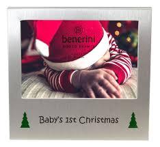 babys 1st christmas photo frame 5 x 3 5 13 x 9 cm