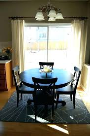 rug under dining table rug under dining table size how to place a with round 4 rug under dining table