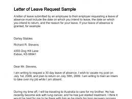 Leave Application Format For Office Impressive Leave Letter Sample Of Absence Employee New Samples Resignation