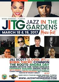 12th annual jazz in the gardens festival announces 2017 lineup with jill scott ll cool j feat dj z trip