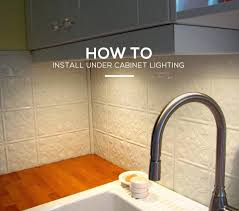 how to install under cabinet lighting new construction lilianduval