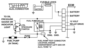 fuel pump wiring diagram electrical problem chevy s cyl earlier you said you got power for 2 secs at the pump that s all you got before the relay de energize it should turn the fuel pump on for that 2secs