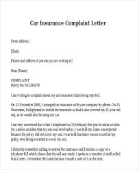 Claim Letters Formal Complaint Letters Template Business