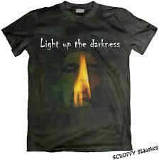 Light Up Shirts Marley Light Up The Darkness T Shirt