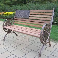 Bench Excellent Outdoor Garden Benches For Sale Wooden Steel And Outdoor Wrought Iron Bench