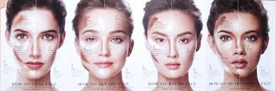 contouring for different face shapes. contour and highlight for face shapes contouring different