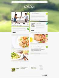 Italian Restaurant Responsive Wordpress Theme 48708