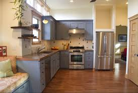 kitchen color ideas gray painted cabinets
