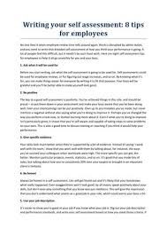 Employee Self Assessment New Writing Your Self Assessment By Holymoleyjobs Uk Jobs By Alok