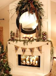 decorating inside a fireplace fireplace candle decorating ideas collections