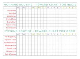 Free Printable School Charts Staying Organized Throughout The School Year
