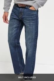 <b>Mens Casual Loose Fit</b> Jeans | Next Official Site