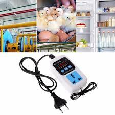 <b>Digital</b> Thermostat 50~<b>110C</b> Temperature Controller Switch <b>AC110</b> ...